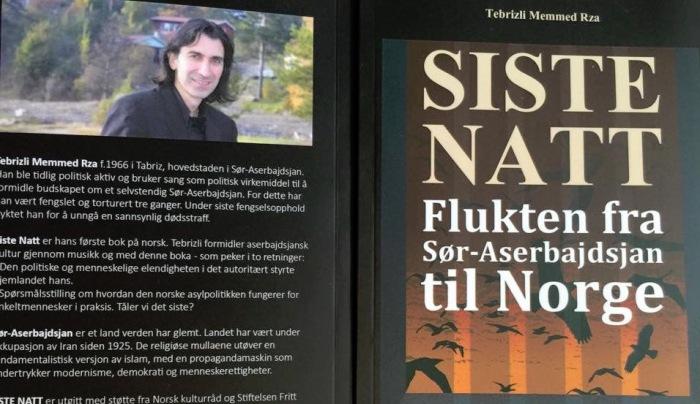 """Tebrizli Memmed Rza """"SISTE NATT"""" flukten fra Sør-Aserbajdsjan til Norge."""